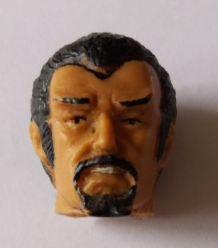 Action Figure Head - Beard
