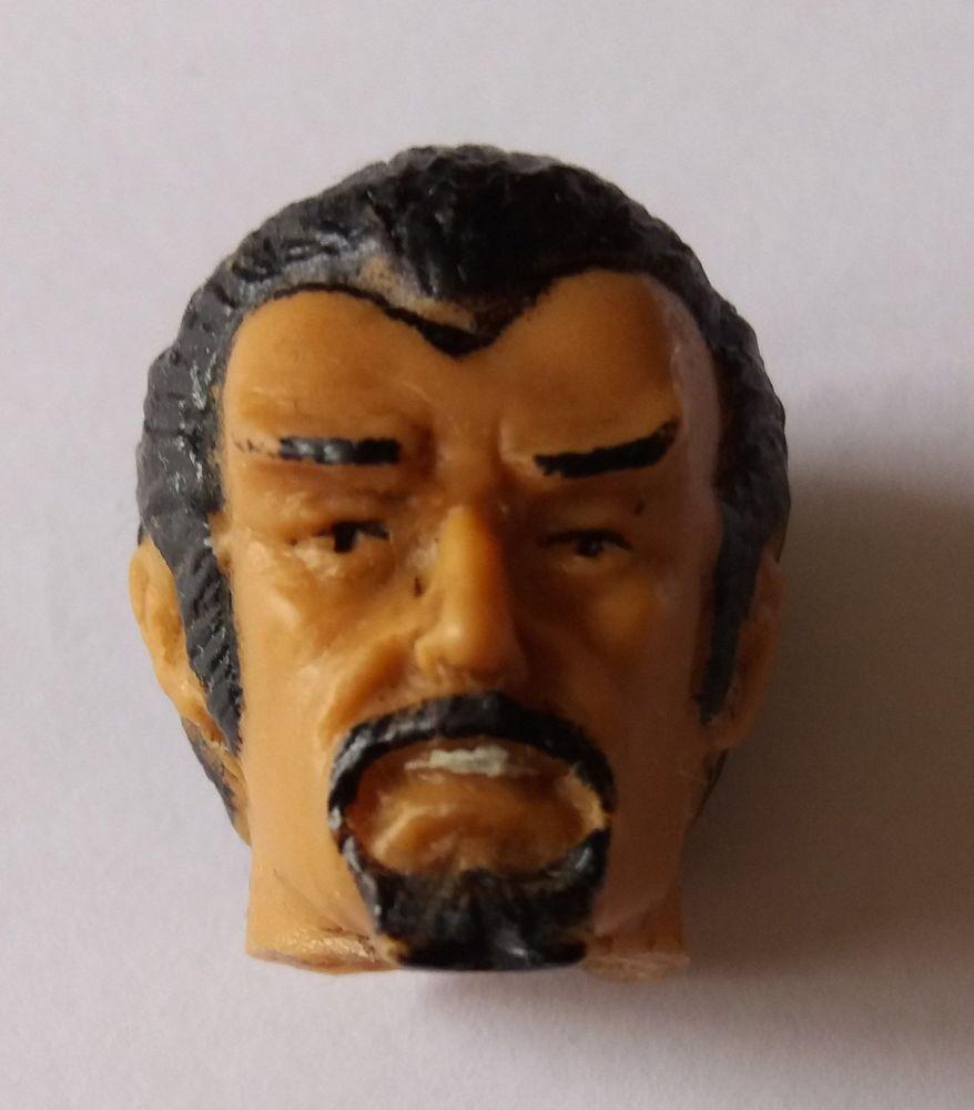 Action Figure Head - Beard