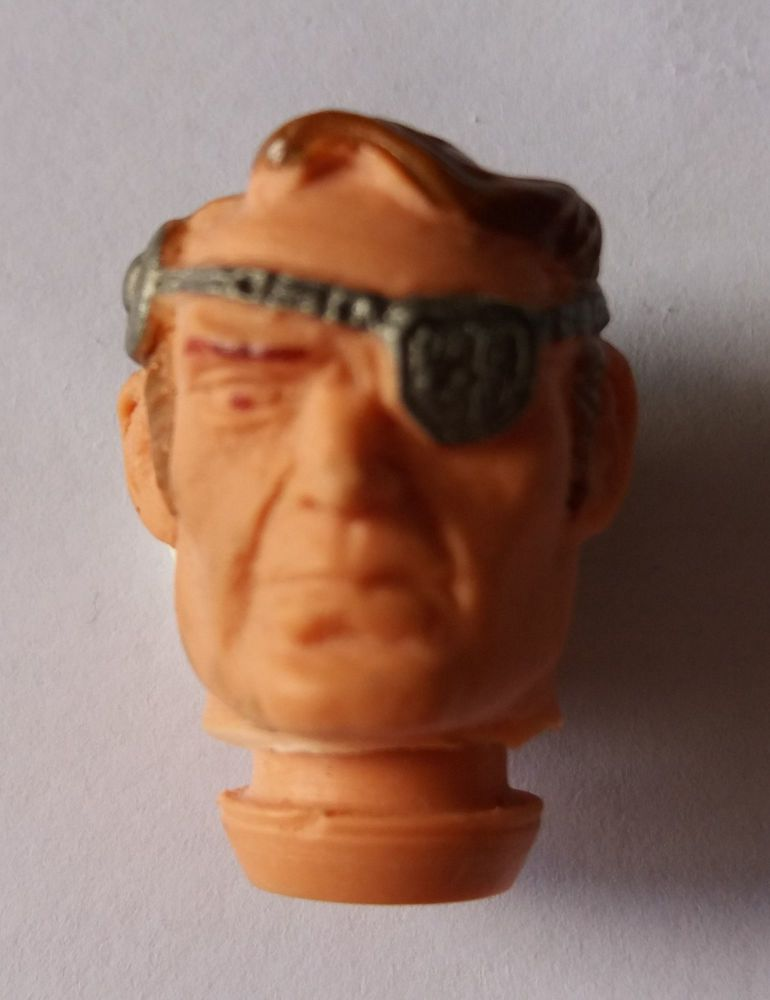 Action Figure Head - Eye Patch