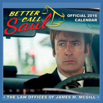 Better Call Saul : The Law Offices Of James M McGill - Calendar 2016 - NEW