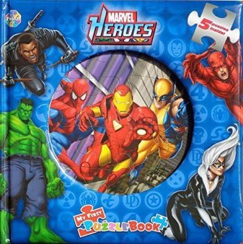 Marvel Heroes - My First Puzzle Book - Set Of 5 Jigsaws - 2010 - NEW