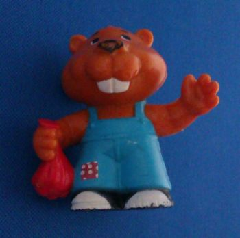 "Get Along Gang - Bingo ""Bet-It-All"" Beaver Figure"