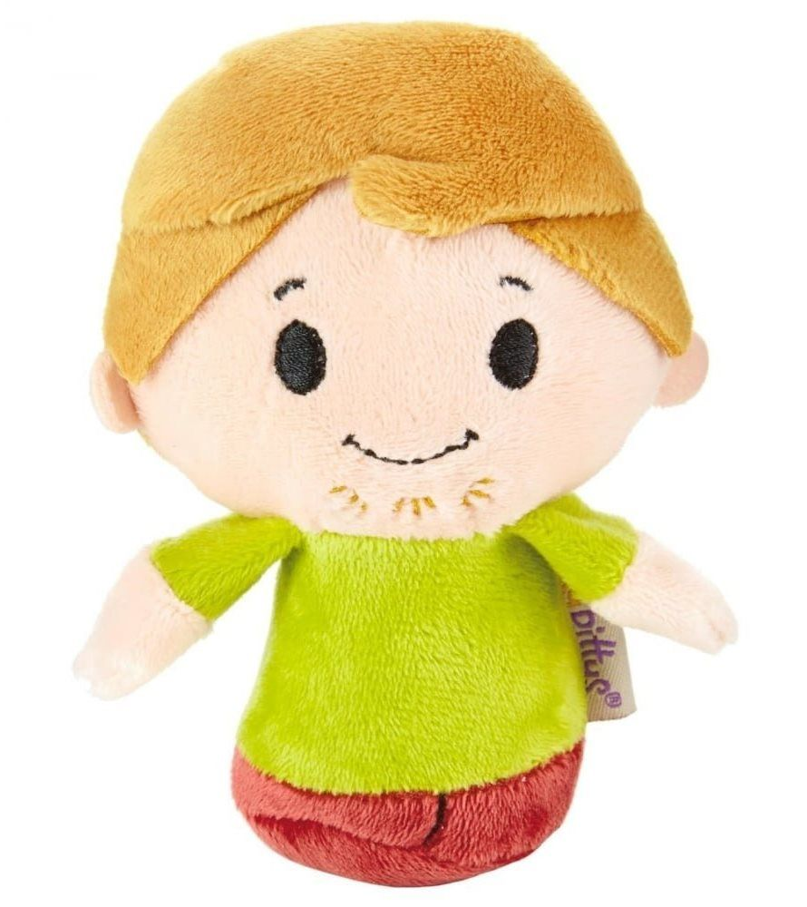Scooby Doo - Itty Bittys - Shaggy Plush Soft Toy - Hallmark - NEW