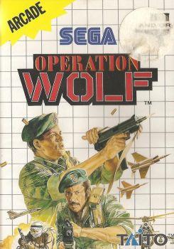 Operation Wolf - SEGA Master System - Taito - 1991