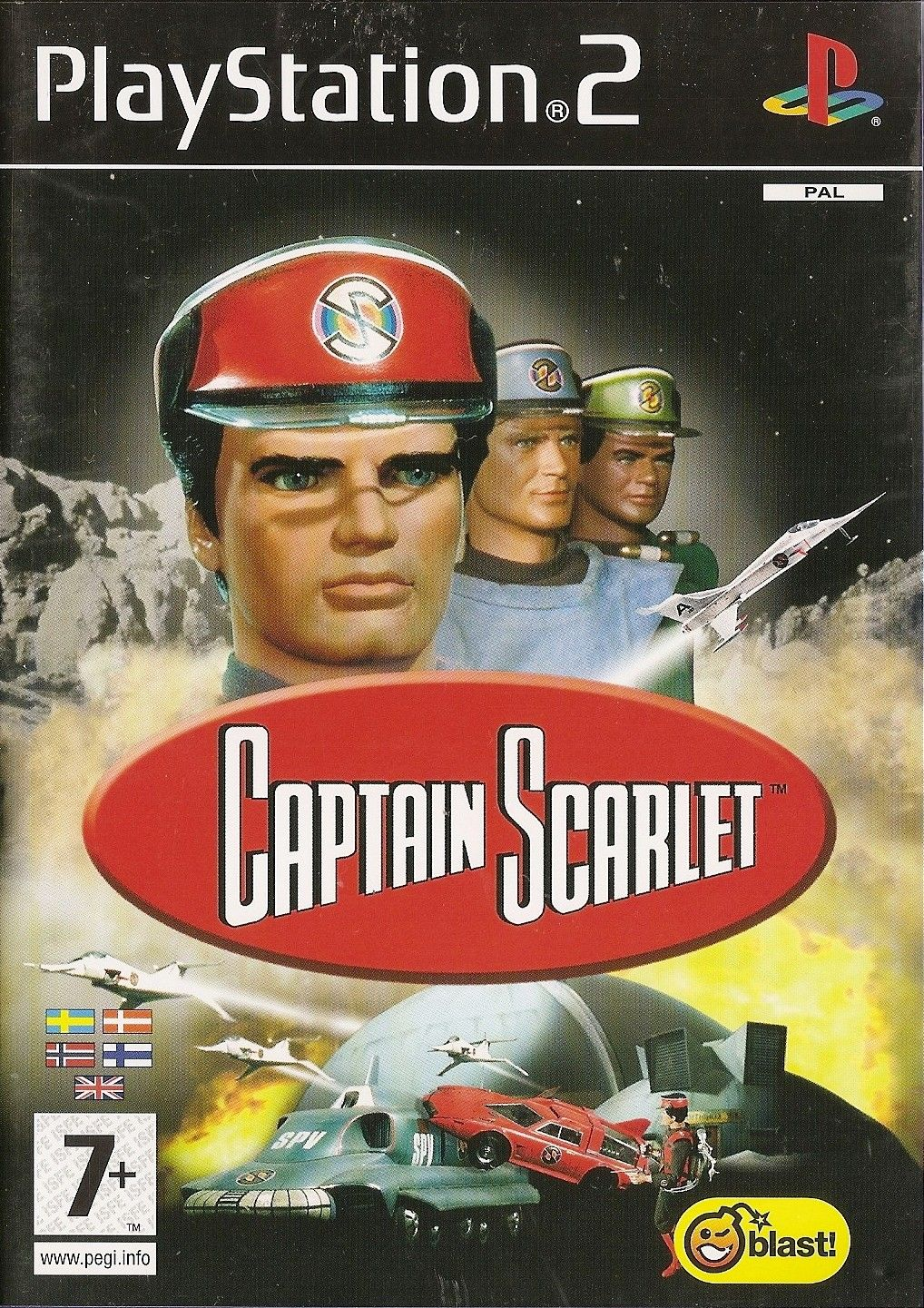 Captain Scarlet - PS2 - Playstation 2 - Blast! - 2006