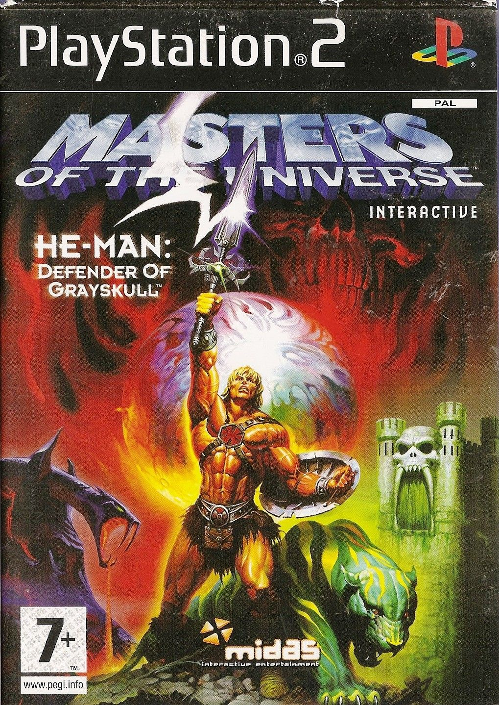 Masters Of The Universe : He-Man : Defender Of Grayskull - PS2 - Playstatio