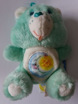 Care Bears - Bedtime Bear Plush Soft Toy With Tag - 1984