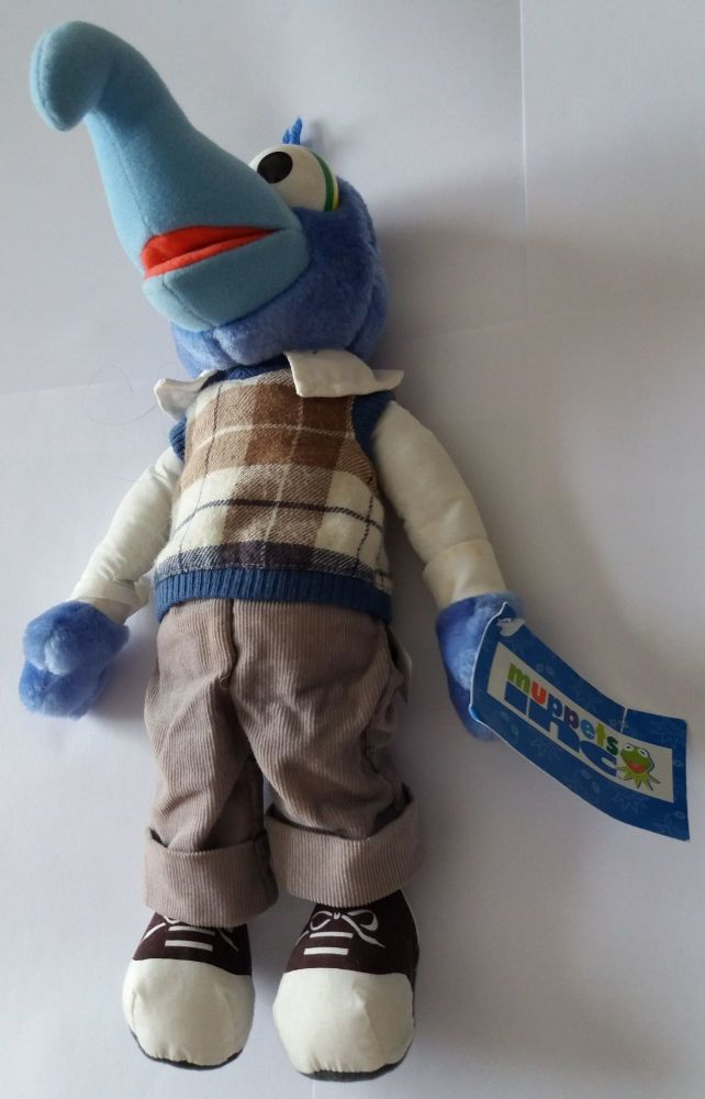The Muppets - Gonzo Plush Soft Toy - 1998 - NEW