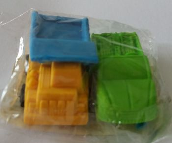 Vehicle Erasers - Set Of 2 - NEW