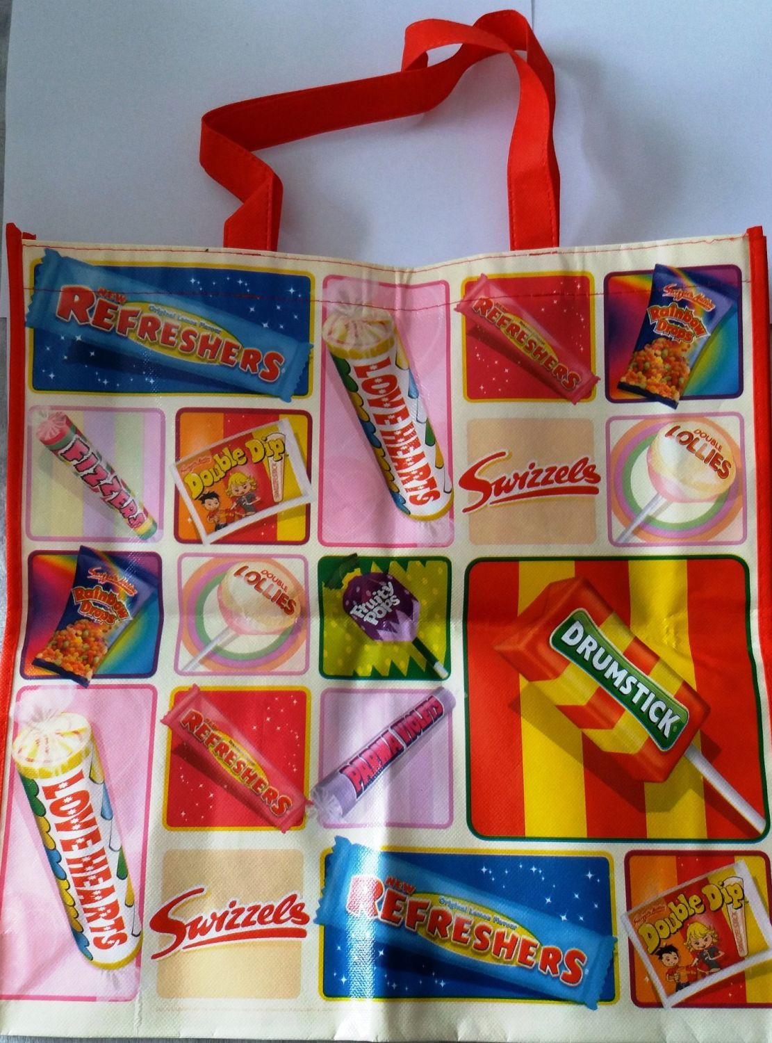 Swizzels Matlow - Printed Shopping Bag - NEW