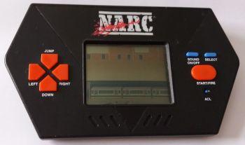 NARC LCD Handheld Video Game - Acclaim - 1989 - RARE