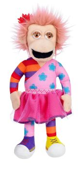 Zingzillas - Panzee Plush Soft Toy - Cbeebies - Vivid - 2009 - NEW