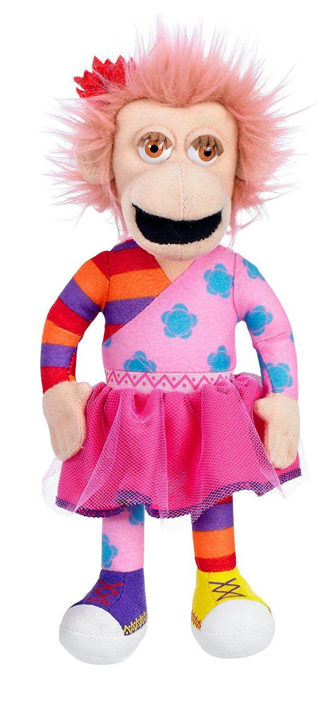Zingzillas - Panzee Plush Soft Toy - Vivid - BBC - 2009 - NEW