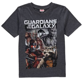 Guardians Of The Galaxy - Short Sleeve T-Shirt - Marvel - 6-7 YRS - NEW