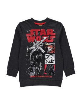 Star Wars - Long Sleeve Sweatshirt - 3-4 YRS - NEW