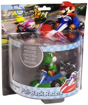 Mario Kart - Pull-Back Racer - Yoshi - Nintendo - 2012 - NEW