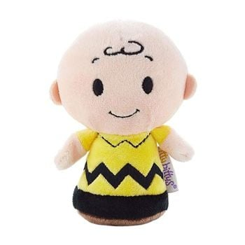 Peanuts - Itty Bittys - Charlie Brown Plush Soft Toy - Hallmark - NEW