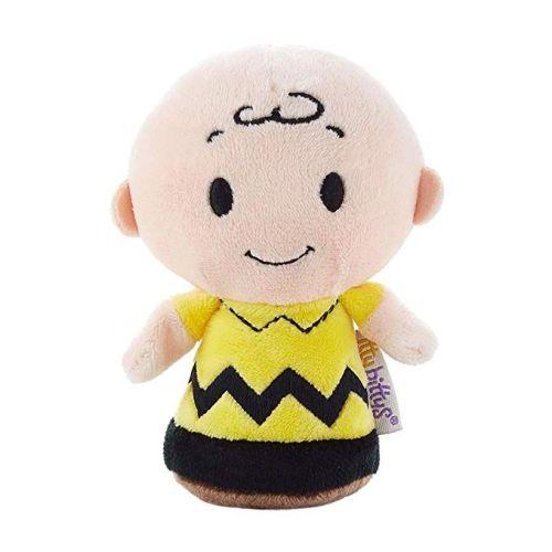Peanuts - Itty Bittys - Charlie Brown Plush Soft Toy - Hallmark - NEW