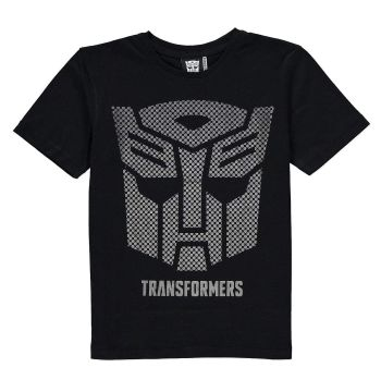 Transformers - Short Sleeve T-Shirt - Metallic Autobot Logo - 1 1/2 - 2 YRS - NEW