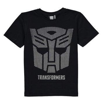Transformers - Short Sleeve T-Shirt - Metallic Autobot Logo - 1 1/2 - 2 YRS - NEW