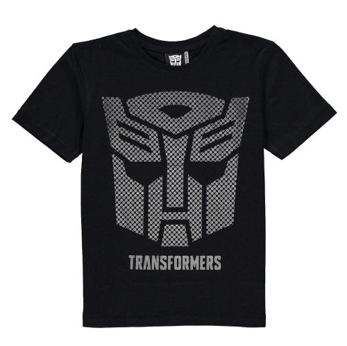 Transformers - Short Sleeve T-Shirt - Metallic Autobot Logo - 1-1 1/2 YRS -