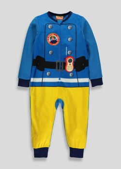 Fireman Sam - Onesie - CBeebies - 9-12 MTHS - NEW