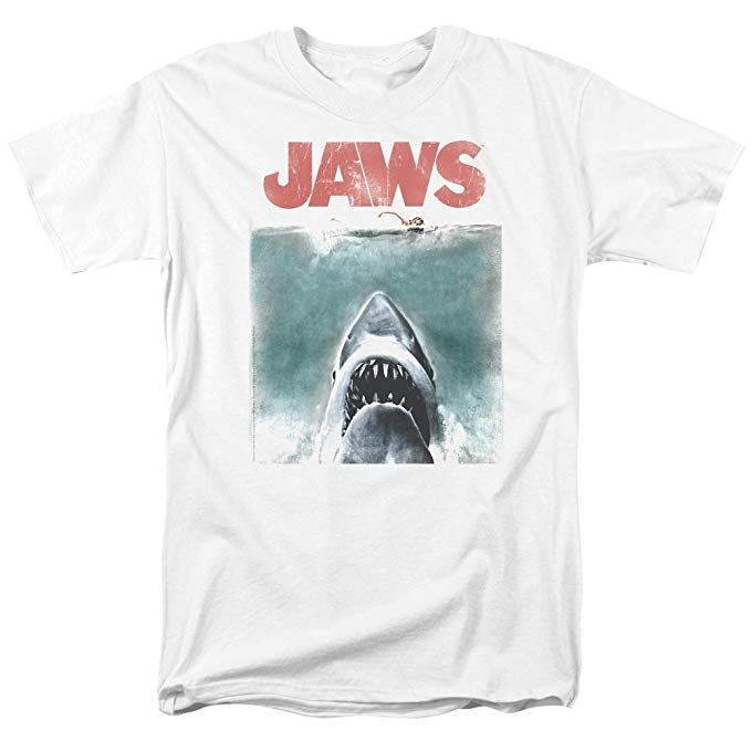 Jaws - Short Sleeve T-Shirt - 4-5 YRS - NEW
