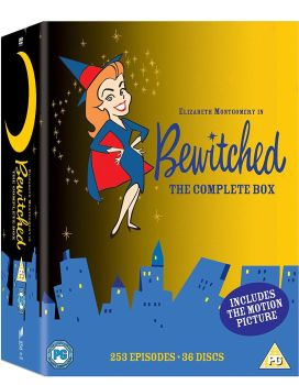 Bewitched - The Complete DVD Box Set - 253 Episodes + Movie - 2015 - NEW