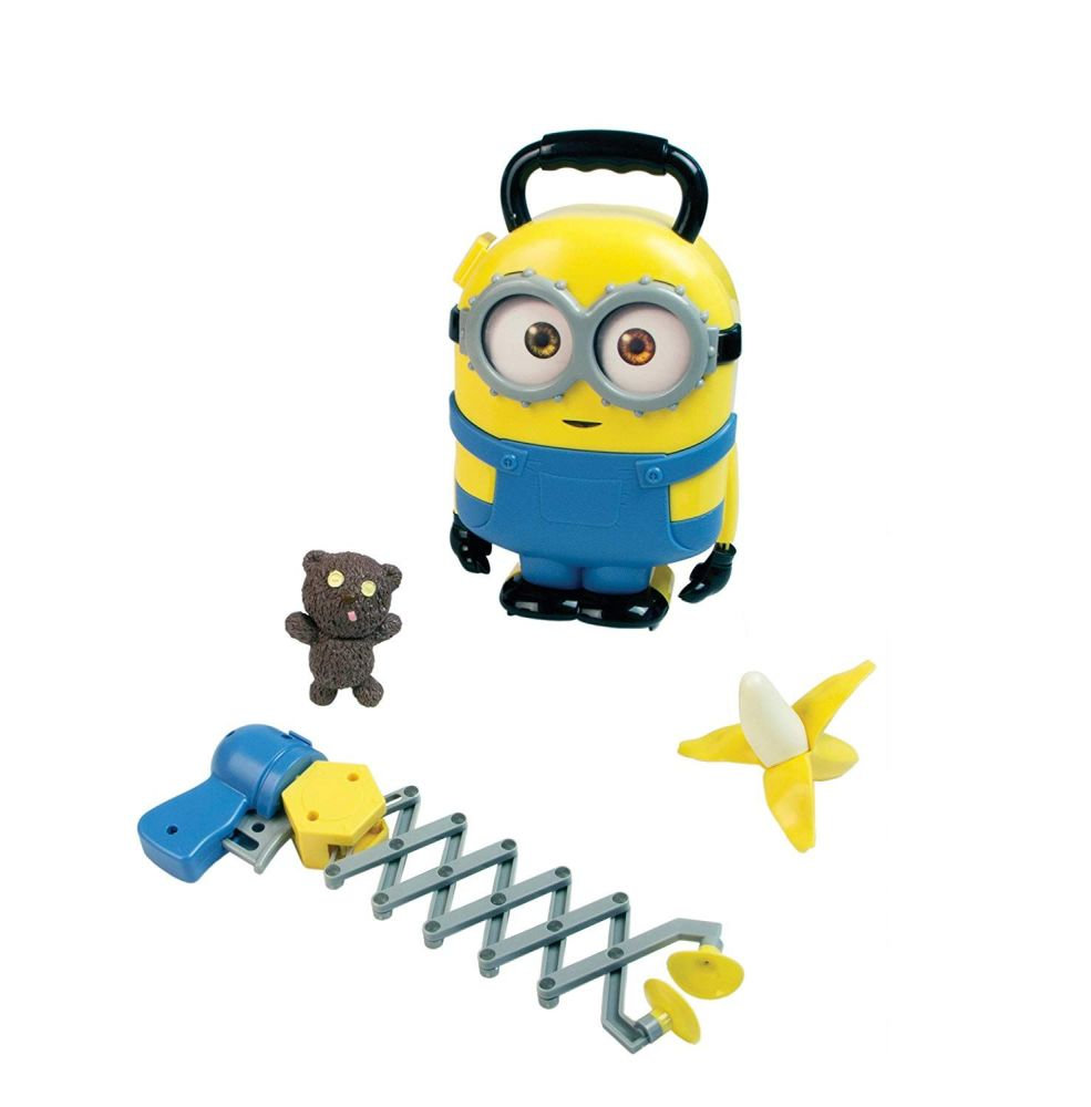 Minions - Bob Carry Case And Accessories - 2015 - NEW