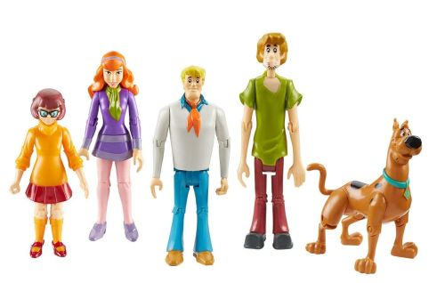 Scooby Doo - Mystery Solving Crew Figure Set - 5 Pack - 2010 - NEW