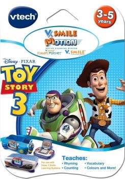 Toy Story 3 - V.Smile Motion - 3-5 Years - Pixar - NEW