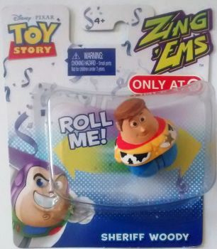 Toy Story - Zing Ems - Sheriff Woody - Pixar - NEW