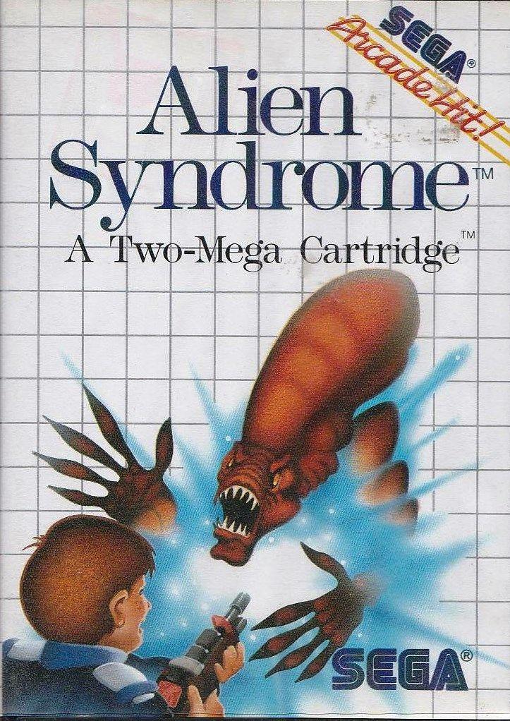 Alien Syndrome - SEGA Master System - Case Only