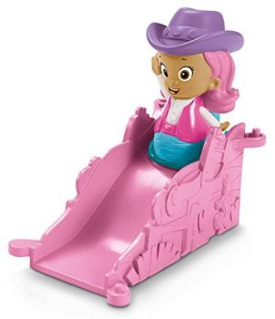 Bubble Guppies - Cowgirl Molly Figure With Ramp - Fisher Price - 2015 - NEW