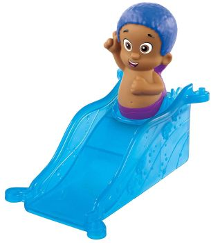 Bubble Guppies - Goby Figure With Ramp - Fisher Price - 2015 - NEW