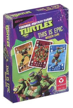 "Teenage Mutant Ninja Turtles - ""This Is Epic"" Mission And Trumps Card Game - NEW"