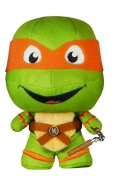 Teenage Mutant Ninja Turtles - Fabrikations - Michelangelo Soft Sculpture - Funko - 2015 - NEW
