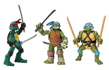 Teenage Mutant Ninja Turtles - Leonardo Figure 3 Pack - Playmates - NEW