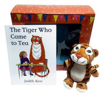 The Tiger Who Came To Tea - Book And Plush Toy Gift Set - NEW