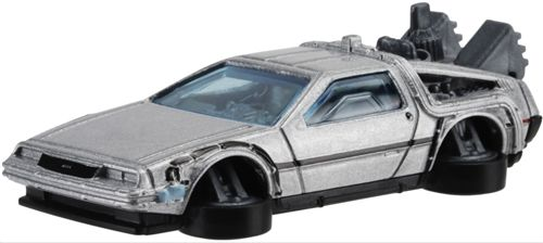 Back To The Future - Time Machine : Hover Mode - Hot Wheels - 2015 - NEW