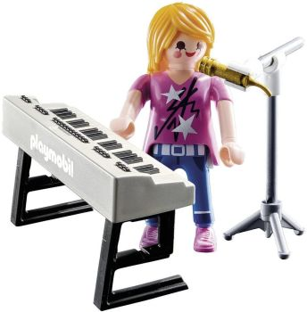 Playmobil - 9095 - Special Plus - Singer With Keyboard - 2016 - NEW