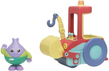 Moon And Me - Mr. Onion's Bumper Roller - Toy Vehicle And Figure Set - CBeebies - Playskool - NEW