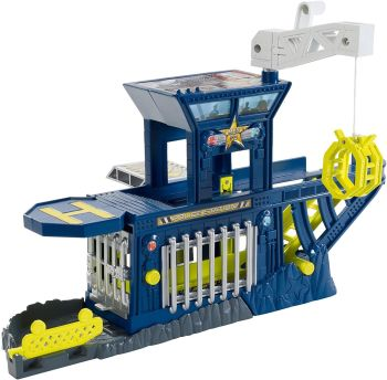 Cliff Hanger - Police Station Playset - Matchbox - 2011