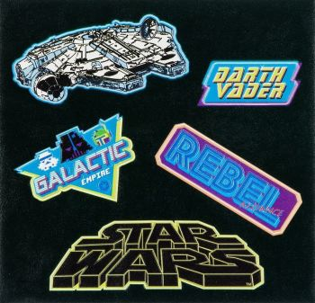 Star Wars - Adhesive Patches - NEW