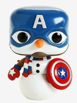 POP! Vinyl Bobble-Head - Marvel - Cap Snowman - 532 - Funko - NEW
