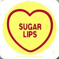 Swizzels Matlow - Love Hearts Coaster - Sugar Lips - NEW