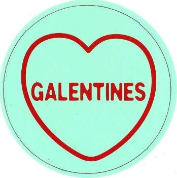 Swizzels Matlow - Love Hearts Large Magnet - Galentines - NEW
