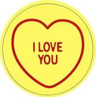 Swizzels Matlow - Love Hearts Large Magnet - I Love You - NEW