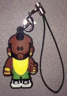 A-Team - Weenicons - Mr T Mobile Phone Charm / Tag - NEW