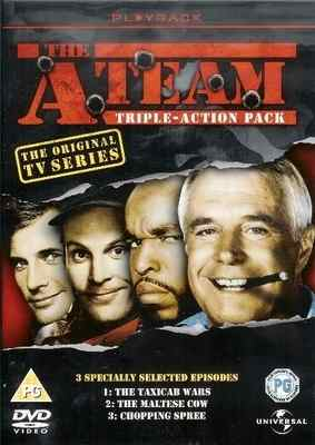 A-Team - Triple Action Pack - DVD